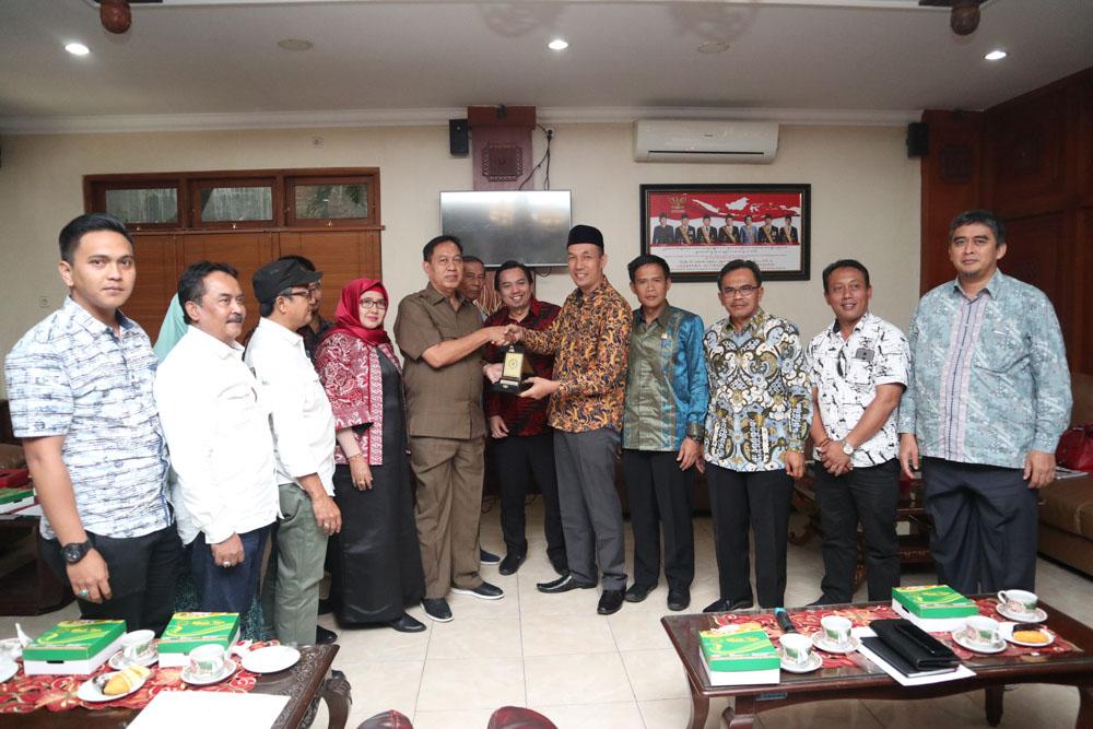 Penerimaan Tamu Kunjungan Kerja DPRD Kabupaten Sumedang
