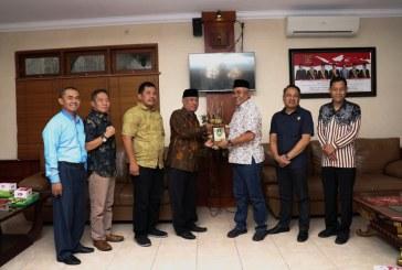 Penerimaan Tamu Kunjungan Kerja DPRD Kabupaten Madiun