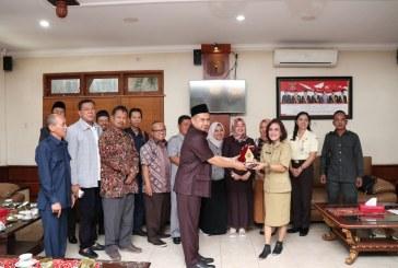 Penerimaan Tamu Kunjungan Kerja dari DPRD Kabupaten Sragen