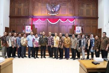 Penerimaan Tamu Kunjungan Kerja dari DPRD Kota Semarang dan Kabupaten Malang