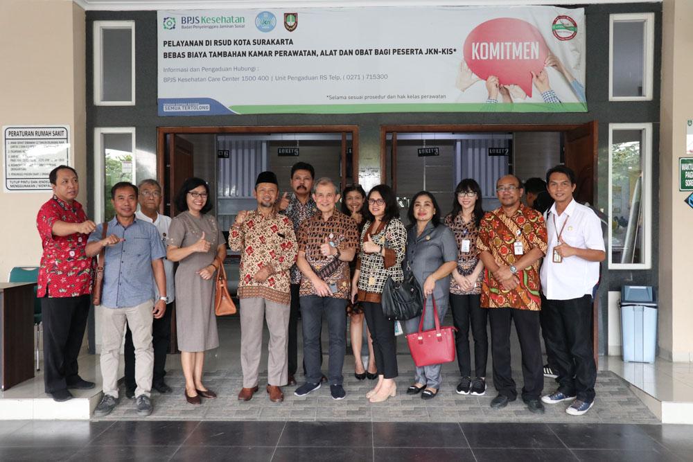 Sidak Komisi IV DPRD Surakarta ke RSUD Ngipang Kota Surakarta