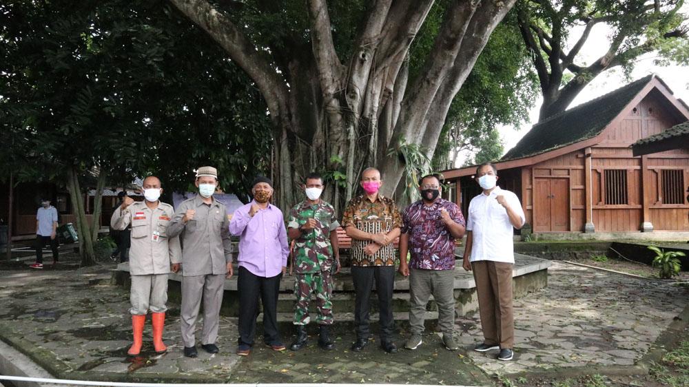 Solo Kuat Lawan Covid-19, Sidak Pimpinan DPRD Kota Surakarta di Lokasi Karantina Pemudik