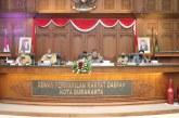 (Galeri) RAPAT PARIPURNA III DPRD Surakarta
