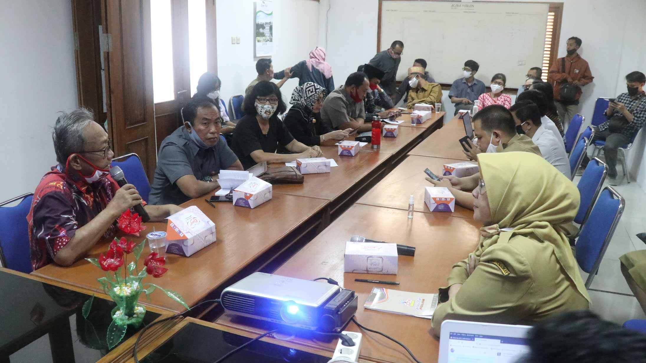 Komisi IV DPRD Kota Surakarta melakukan Sidak ke Dinas Pendidikan Kota Surakarta