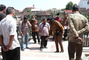 Sidak Taman Cerdas Gilingan, Komisi I DPRD Surakarta Soroti Fisik Bangunan