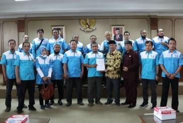 Datangi Gedung DPRD, DPC SPN Surakarta Tolak UU Omnibus Law