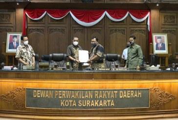 Pemkot Surakarta Ajukan Raperda Pengurangan Penyertaan Modal PD.TSTJ
