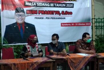 Hanya Sekali Pertemuan, Reses DPRD Kota Surakarta Ikut Terdampak Covid-19