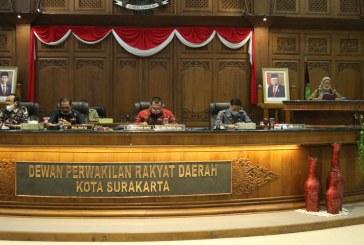 DPRD Kota Surakarta Target  Tetapkan Tiga Raperda 22 Desember