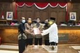 Di Penghujung Tahun 2020, DPRD Surakarta Tetapkan Tiga Raperda Menjadi Perda