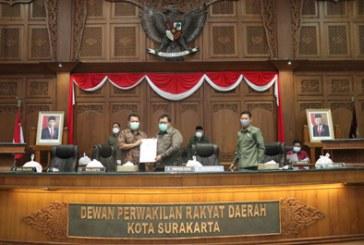 Rapat Paripurna III, Wali Kota Surakarta Beri Jawaban Pertanyaan Fraksi