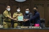 Wali Kota Surakarta Sampaikan Nota Penjelasan Raperda Pertanggungjawaban Pelaksanaan APBD TA 2020