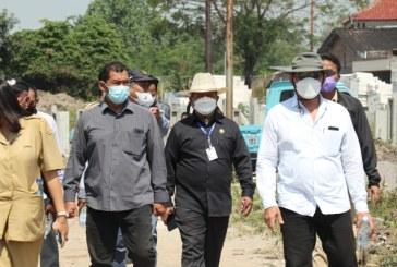 Komisi III Sidak Pembangunan Rumah di Eks Lahan HP 16 Surakarta