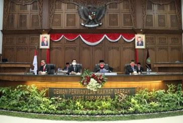 DPRD Surakarta Gelar Paripurna Mendengarkan Pidato Kenegaraan Presiden RI